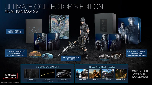 Final Fantasy XV Collector's Edition