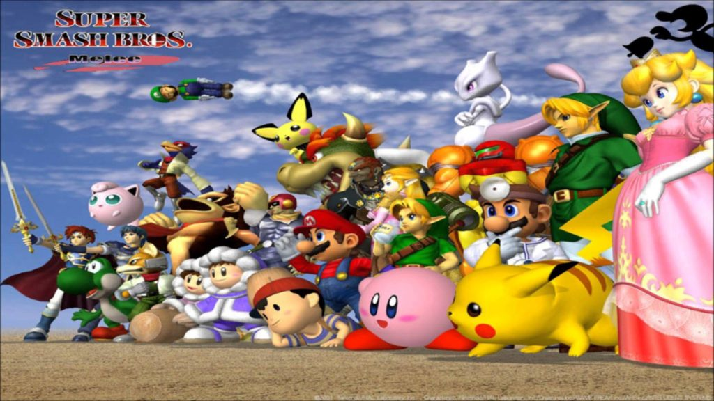 super smash brothers. melee e3