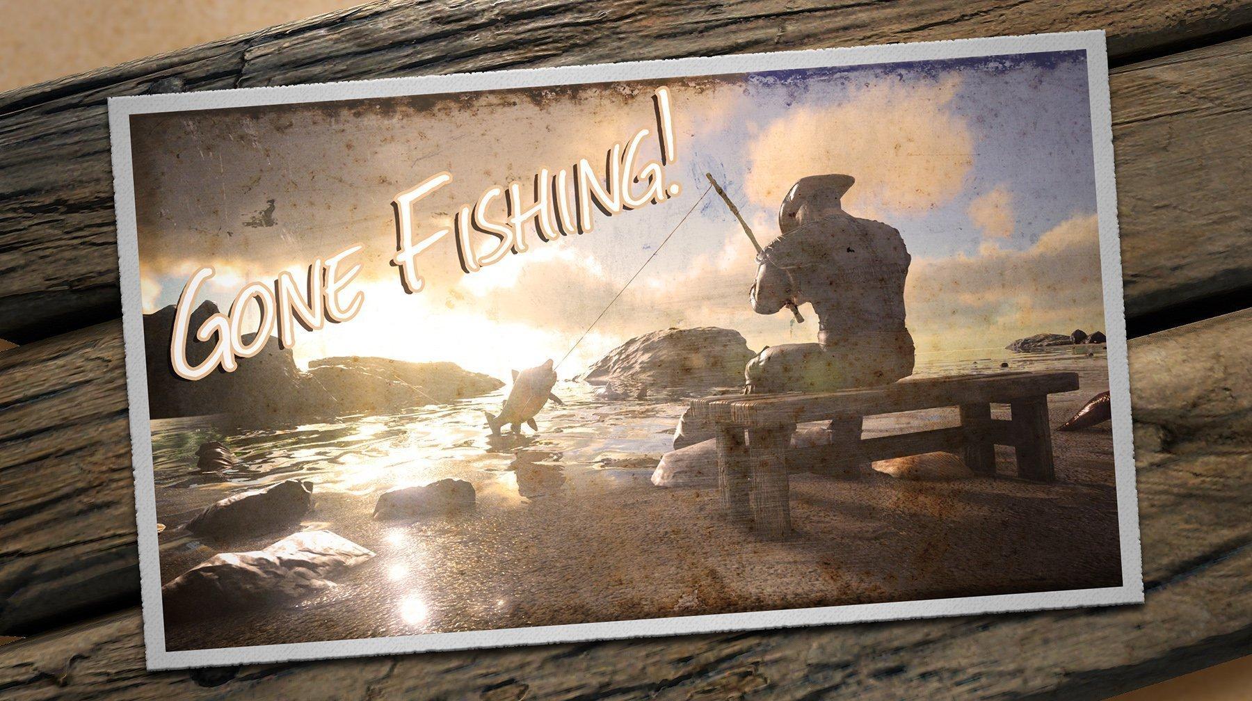 Ark Gone Fishin