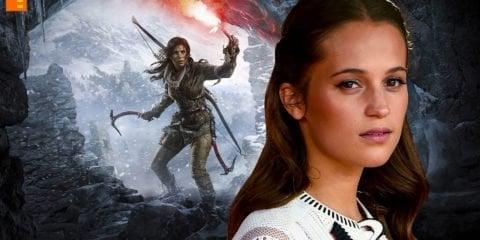 Alicia Vikander, Lara Croft