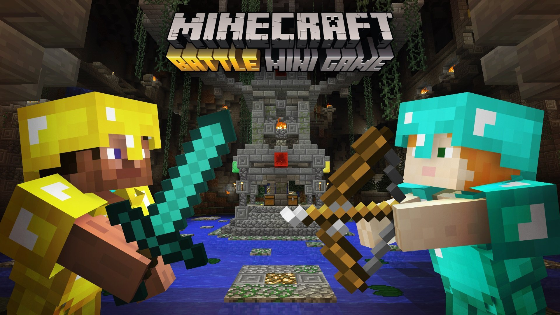 Minecraft Battle Mode MiniGame