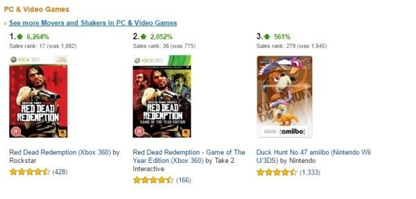 red dead redemption amazon sales