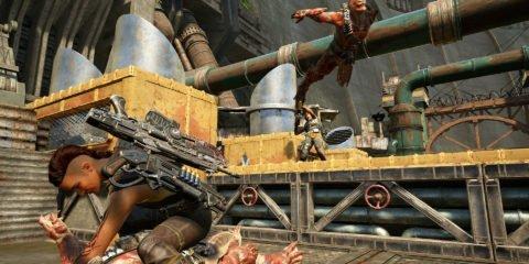 Reyna, Kait, Gears of War 4