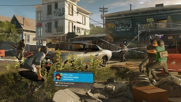 Watch Dogs 2 - Multiplayer hacking