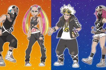 Pokemon Sun and Moon Team Skull