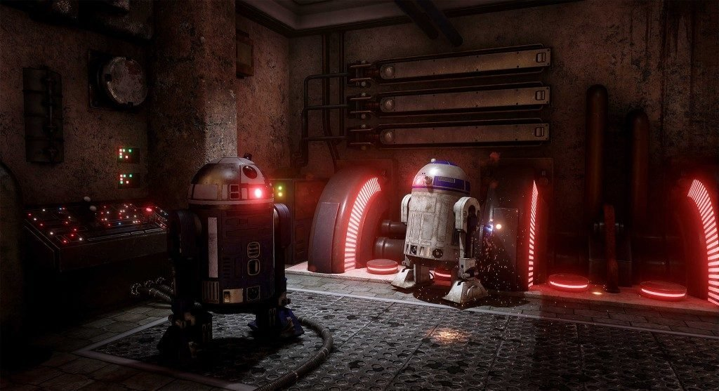 Star Wars Droids Unreal 4