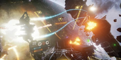 EVE Valkyrie Battle