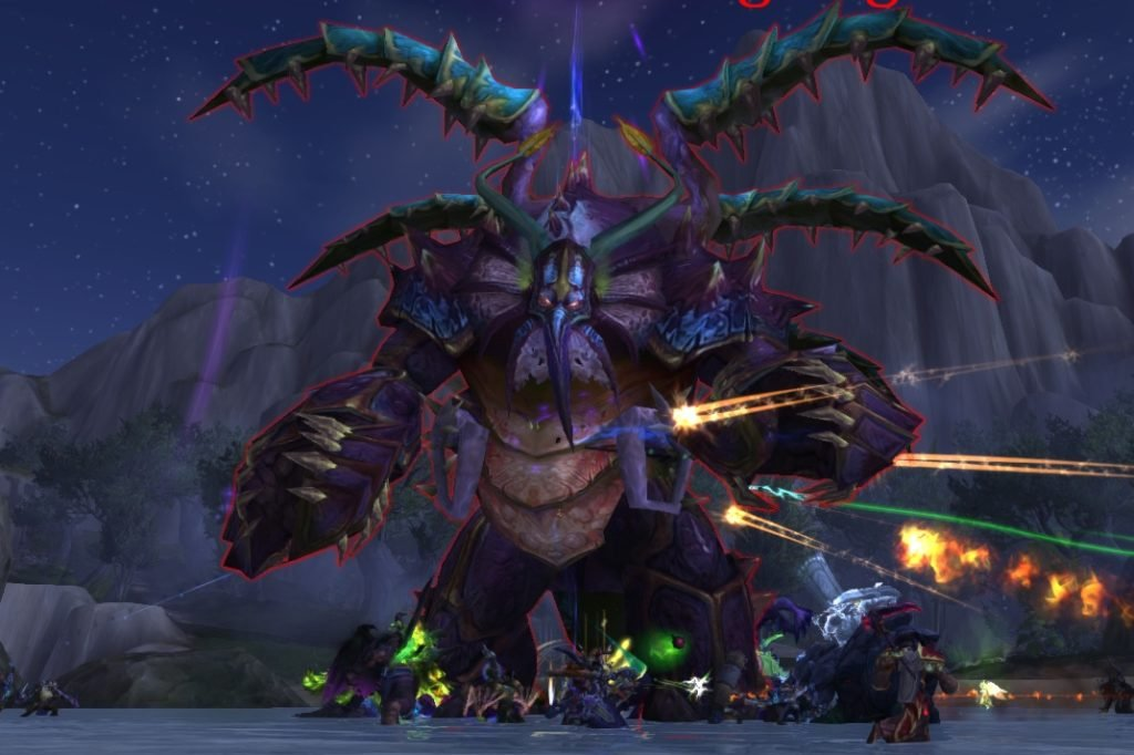 kosumoth the hungering World of Warcraft Legion
