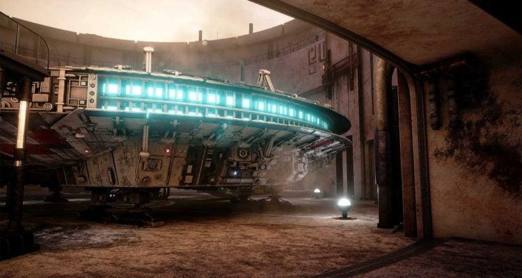 Star Wars Millennium Falcon Unreal 4