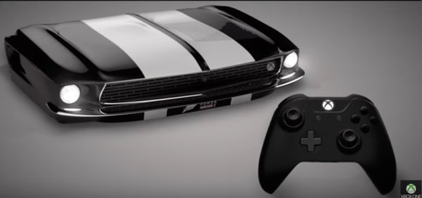 Xbox One S Ford Mustang