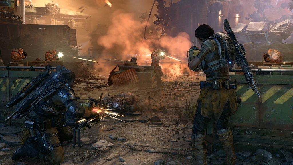 Gears of War 4 Drone Battle