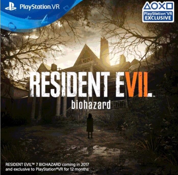 Resident Evil 7 12 months