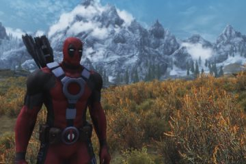 Skyrim Deadpool mod