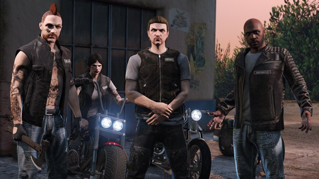 Bikers Update, Grand Theft Auto Online