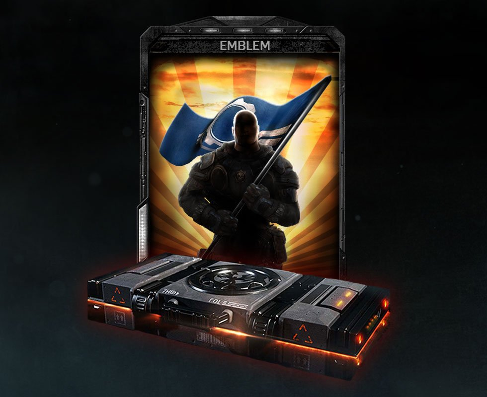 Gears of War 4 Legacy Emblem
