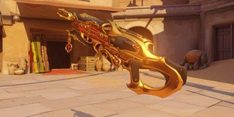 Overwatch Widowmaker Huntress Golden Gun