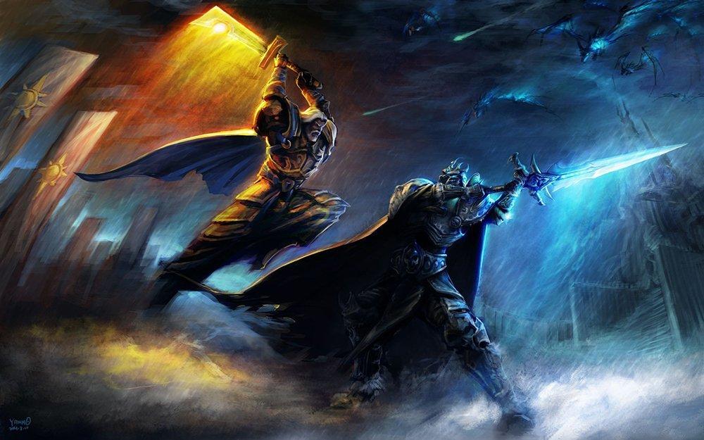 World of Warcraft Tirion Lich King