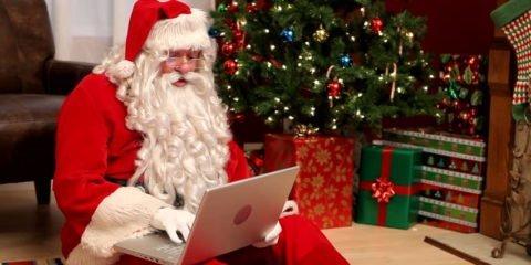 Santa Online Shopping