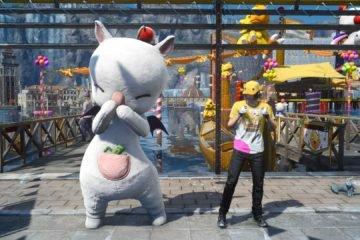 Final Fantasy XV Moogle Chocobo Carnival