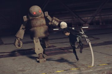 Nier Automata attack