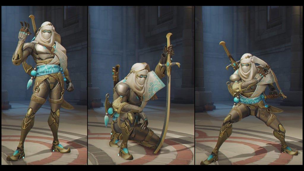 Overwatch Genji Bedouin