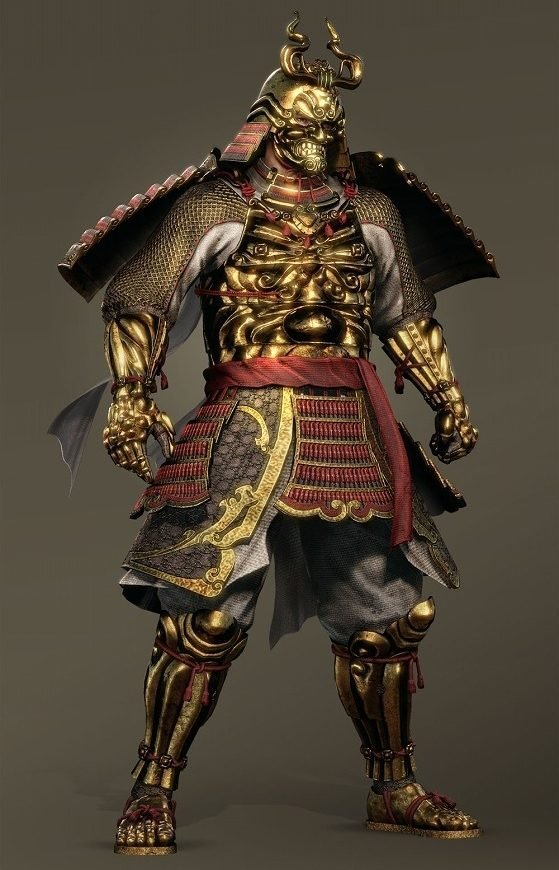 Golden Nioh Armor