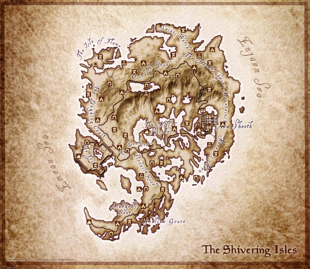 Elder Scrolls Oblivion Shivering Isles