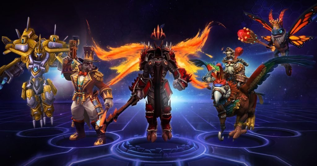 Heroes of the Storm Tempest Summer Championship Bundle