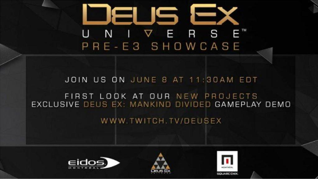 Deus Ex Universe Showcase