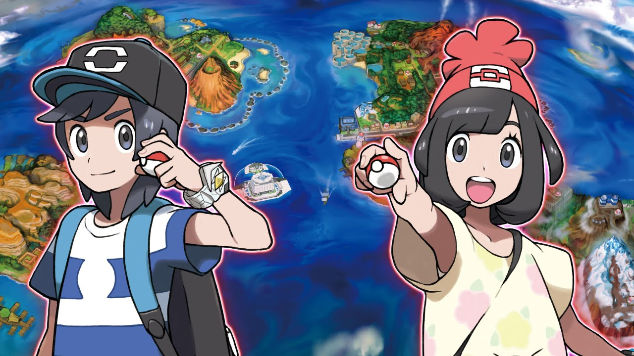 Pokemon Sun and Moon