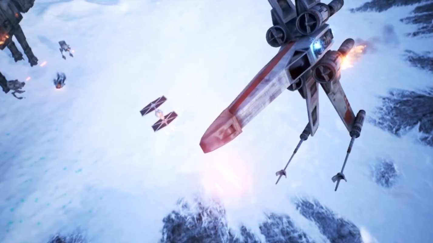 Star Wars Battlefront Galaxy in Turmoil