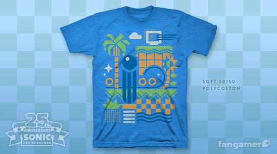 Sonic 25th anniversary shirt