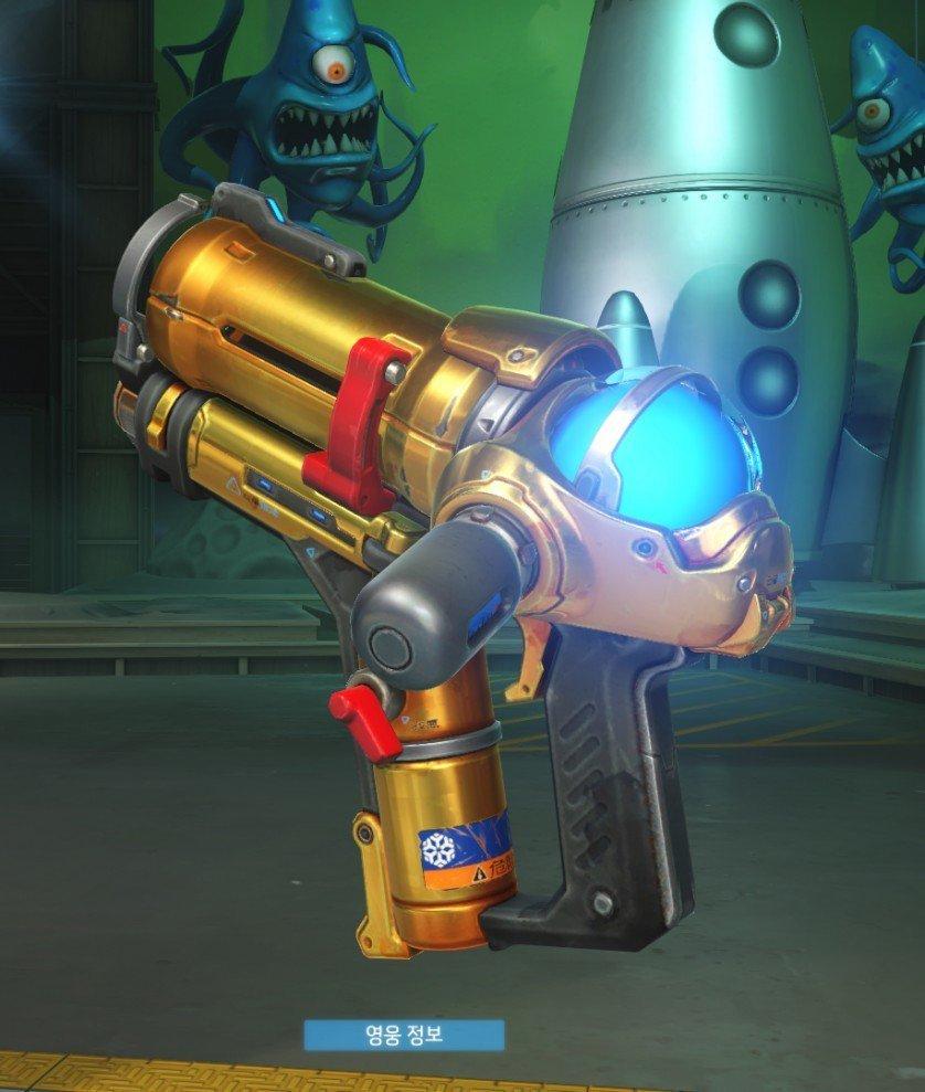 Overwatch Golden Weapon