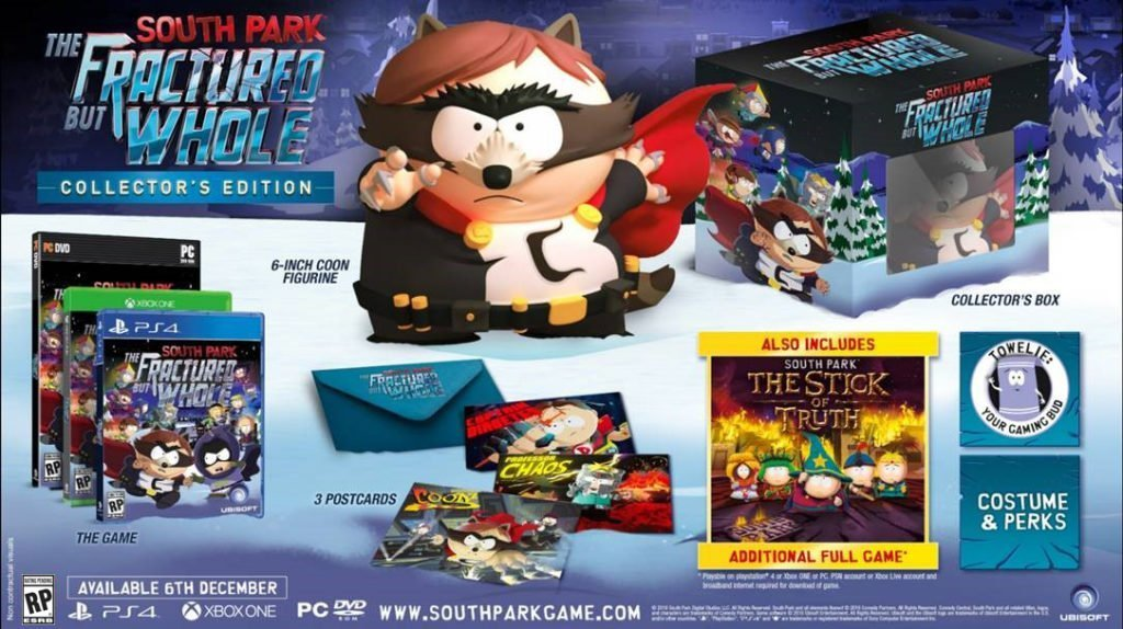 South Park Fractured But Whole Collector's Editions