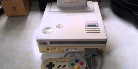 Nintendo PlayStation console