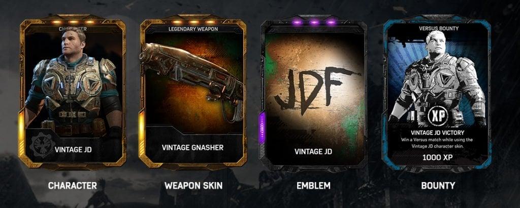 Gears of War 4 Gear Packs