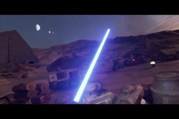 Star Wars, VR, HTC Vive, Trials, Tatooine