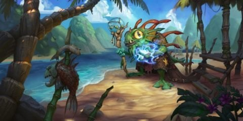 Hearthstone Morgl the Oracle Shaman Hero