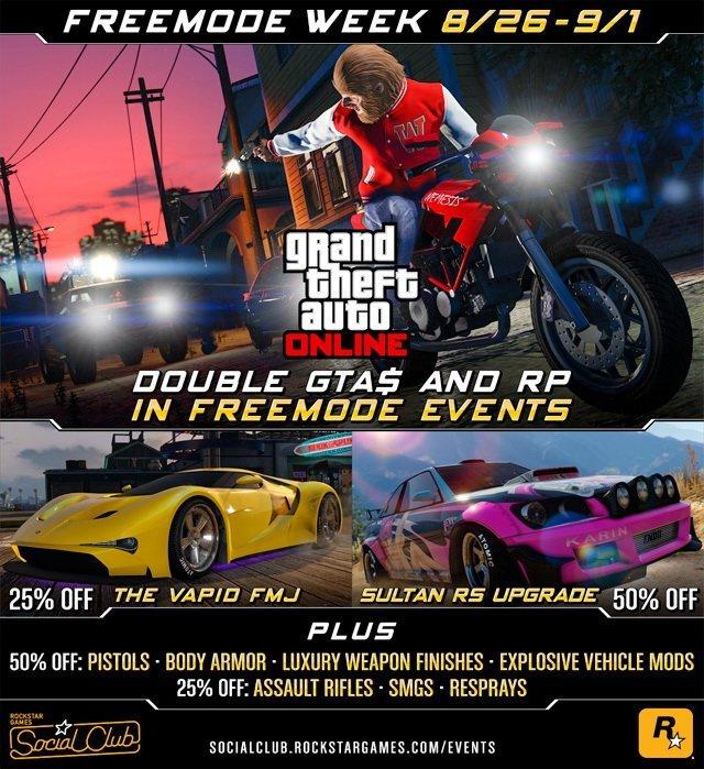 GTA Online Freemode Week