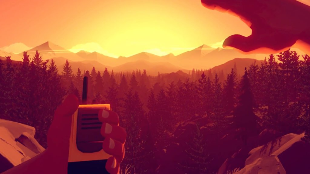 Firewatch walkie talkie