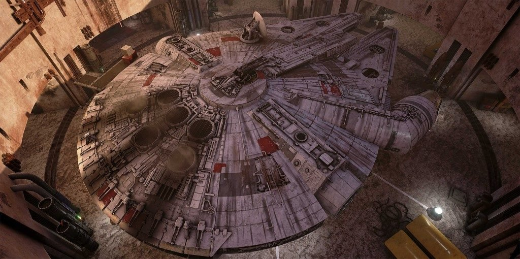 Millennium Falcon Full Unreal 4