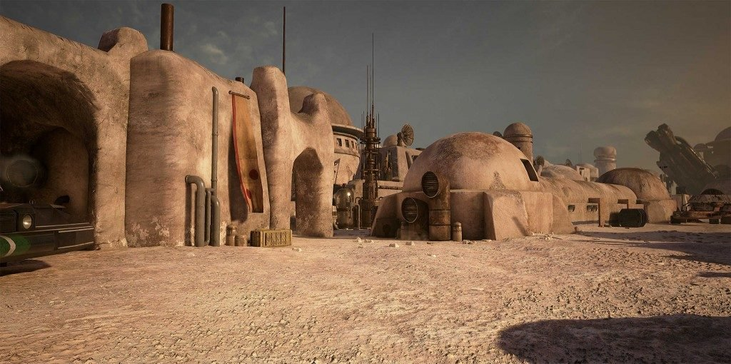 Star Wars Mos Eisley Town Unreal 4