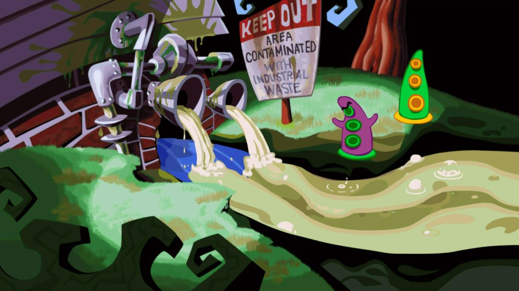 Day of the Tentacle Remastered Steam Retro