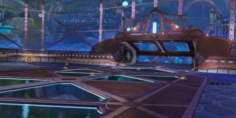 Rocket League aquadome