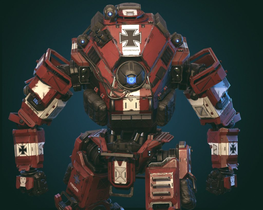 Titanfall 2 Red Baron