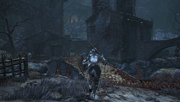 Dark Souls III Ashes of Ariandel Corvian Settlement