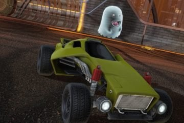 Rocket League Halloween Event