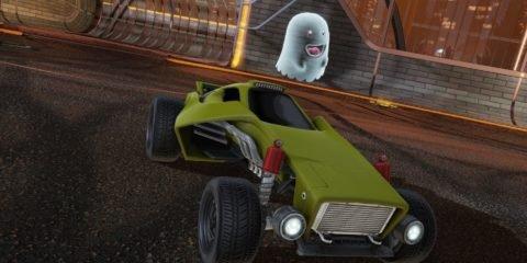 Rocket League Halloween Event