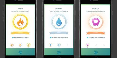 Pokemon GO medals