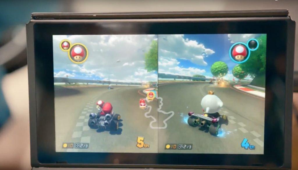Nintendo Switch mario kart